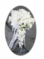 Cascading Bridal Bouquet from Bridal Silk Bouquets
